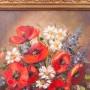 Картина маслом Букет с маками, натюрморт, , сер. 20 в.