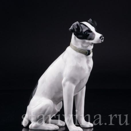Статуэтка из фарфора Охотничья собака, Pfeffer, Gotha, Германия, 1934-1942 гг.