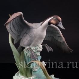 Фигурка птицы из фарфора Шилохвость, Andrea, США, вт. пол. 20 в.